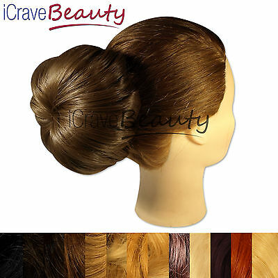 Clip in Clip on Hair Bun - All Styles & Colours Bun Hairpiece
