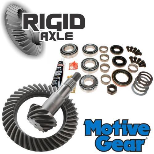 "4.56 Motive Ring and Pinion Gear Set w// Bearing Kit GM Chevy 8.25/"" IFS 4x4"