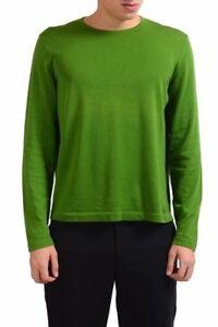 Verde M Pullover Chiaro Malo Tondo Maglione Usa Uomo Collo RC5w5Zq