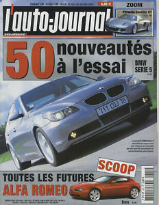 L-039-AUTO-JOURNAL-n-621-28-05-2003-PORSCHE-CARRERA-GT-ITALDESIGN-LEXUS-RX300