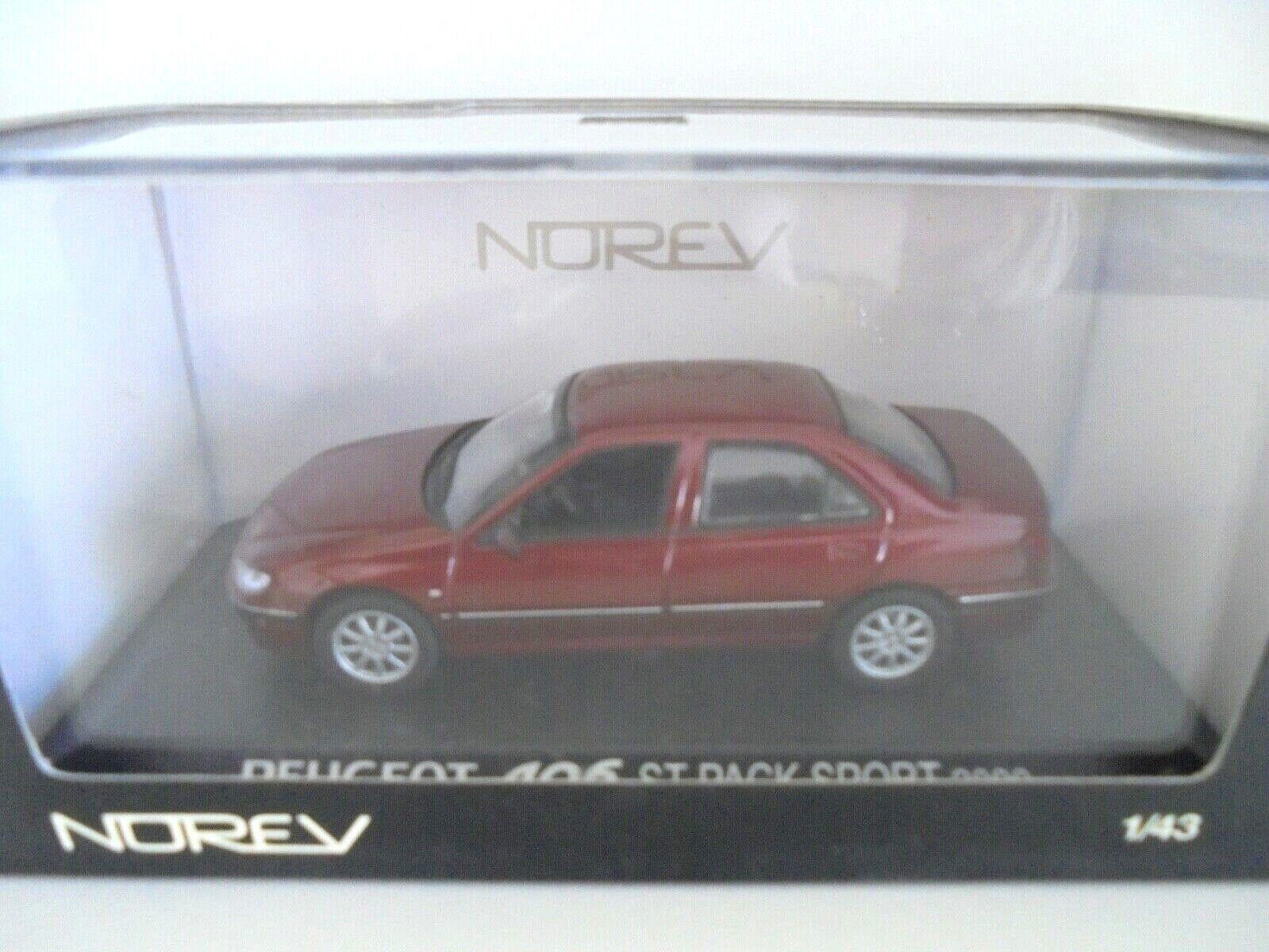 1 43 . PEUGEOT 406 ST Pack Sport 2000     NOREV