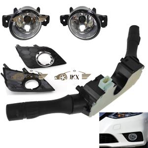 Fog Light Lamp /& Bezel Kit k Auto Head Switch For Nissan Sentra Sylphy 2016-2019