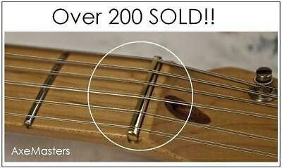 """52mm UNBLEACHED BONE NUT for Classical Guitar AxeMasters 2/"""""""
