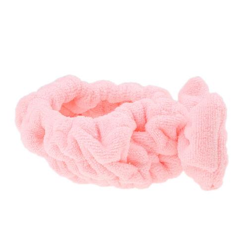 2pcs Bowknot Make-up Kosmetische Dusche Bad Spa Elastisches Haarband