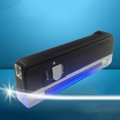 Portable Handheld UV Light with Torch  Counterfeit Money Bill Check Detector