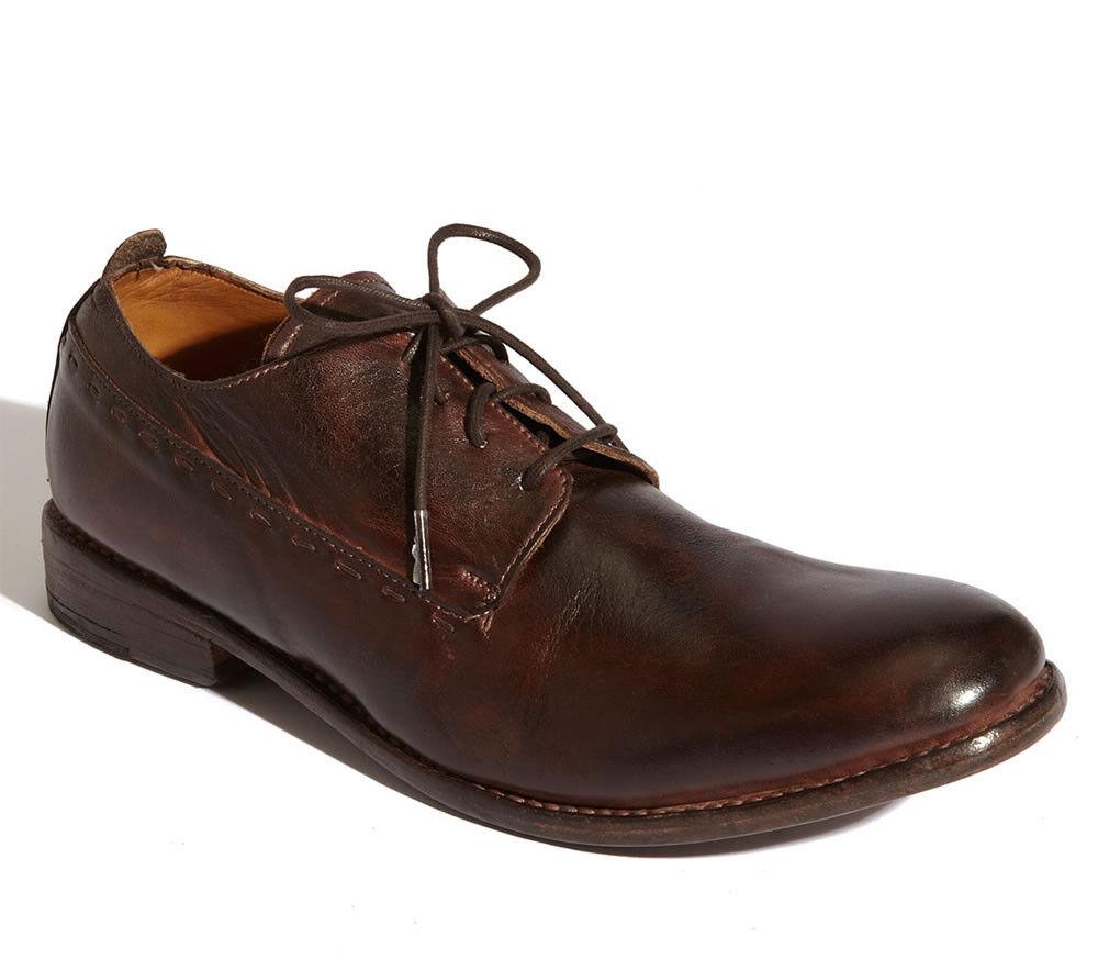 Bed Stu-RITZ-Para hombres Zapatos Oxford Con Cordones-Cuero-nuevo-Teca Rústico