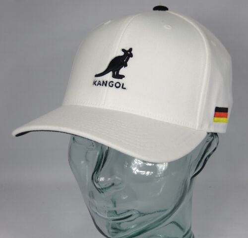 Kangol Nations 110 adjustable Baseball Cap Basecap Berretto GERMANIA GERMANY NUOVO