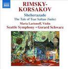 Rimsky-Korsakov: Sheherazade; The Tale of Tsar Saltan (Suite) (CD, Jan-2011, Naxos (Distributor))