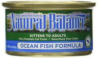 Natural Balance Ocean Fish Formula Wet Cat Food, 3-ounce Can (pack Of 24), New,