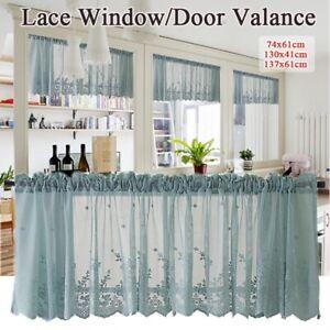 Cafe-Drape-Modern-Lace-Curtain-Window-Kitchen-Home-Valance-Wide-Cut-Net-Jacquard