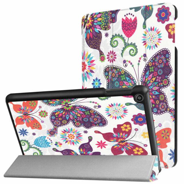 Funda para Amazon Kindle Fire HD8 2016/2017/2018 8.0 Smart Cover Libro Piel