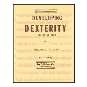 Le Développement De Dextérité Peters, Mitchell Performance Livre Percussion-afficher Le Titre D'origine