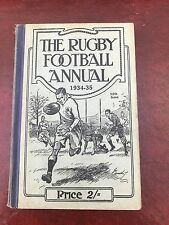 the rugby football annual 1934 - 35