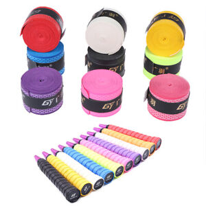 1PC-Outdoor-Racquet-Racket-Stretchy-Anti-Slip-Roll-Badminton-Handle-Grip-Tape-ME