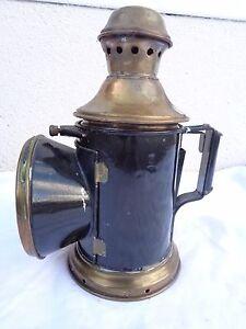 Elegant Im Geruch Schiffslampe ?.. MüHsam Alte Petroleumlampe Bahnlampe