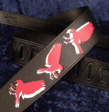 REBEL GUITAR STRAP FLY BIRD - CROW RAVEN HAWK EAGLE