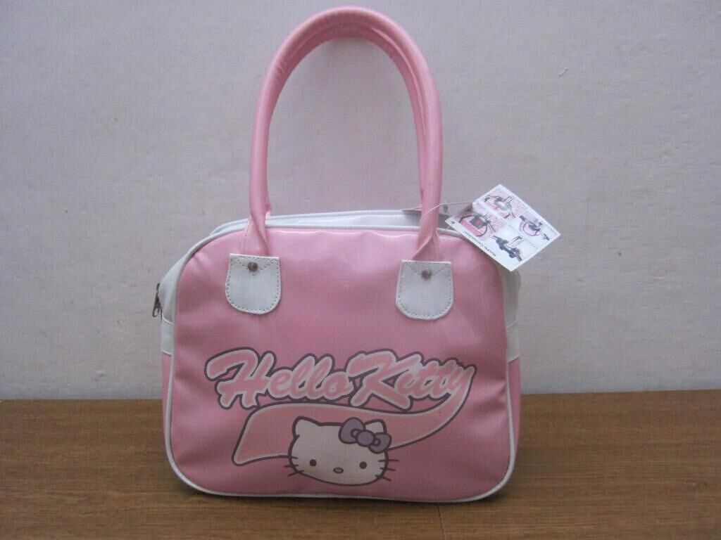 Hello Kitty Bag Woman Pink Case New