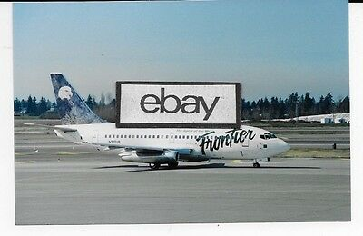 PMT1567 Frontier Airlines Boeing 737 Photo Magnet