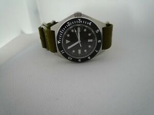 AUTOMATIC-DG-2813-Time-Arrow-Military-Benrus-Type-1-316-sapphire-white-hands