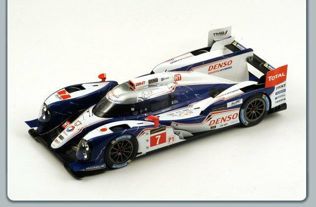 Toyota TS030 Hybrid   7 Lm2013 Spark MultiCouleure 1 18