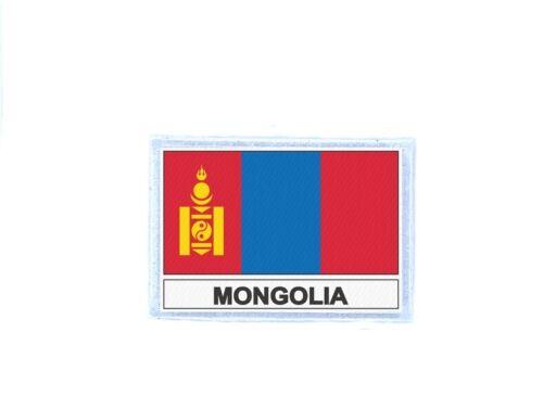 Aufnäher patches gedruckt Flaggen flagge fahne MN mongolei