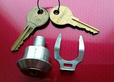 KENNEDY #80844 MACHINST'S TOOL BOX Cylinder Lock and Key Set New