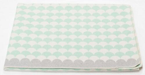 """Fussenegger SILVRETTA Flanell-Allzweckdecke /""""Schuppen/"""" glasgrün 140//200 cm"""