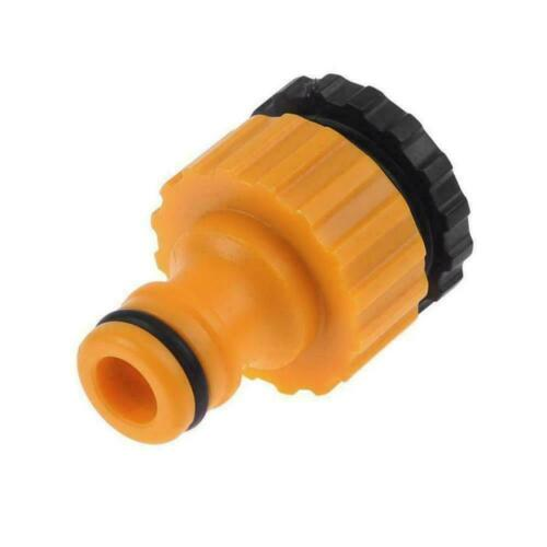 """ABS Garden Hose Water Pipe Connector Tube Fitting Tap Adapter /&-3//4/"""" 1//2/"""" M0E7"""
