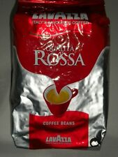 LAVAZZA QUALITA ROSSA COFFEE BEANS 1 Kg BAG MEDIUM ESPRESSO FREE P&P