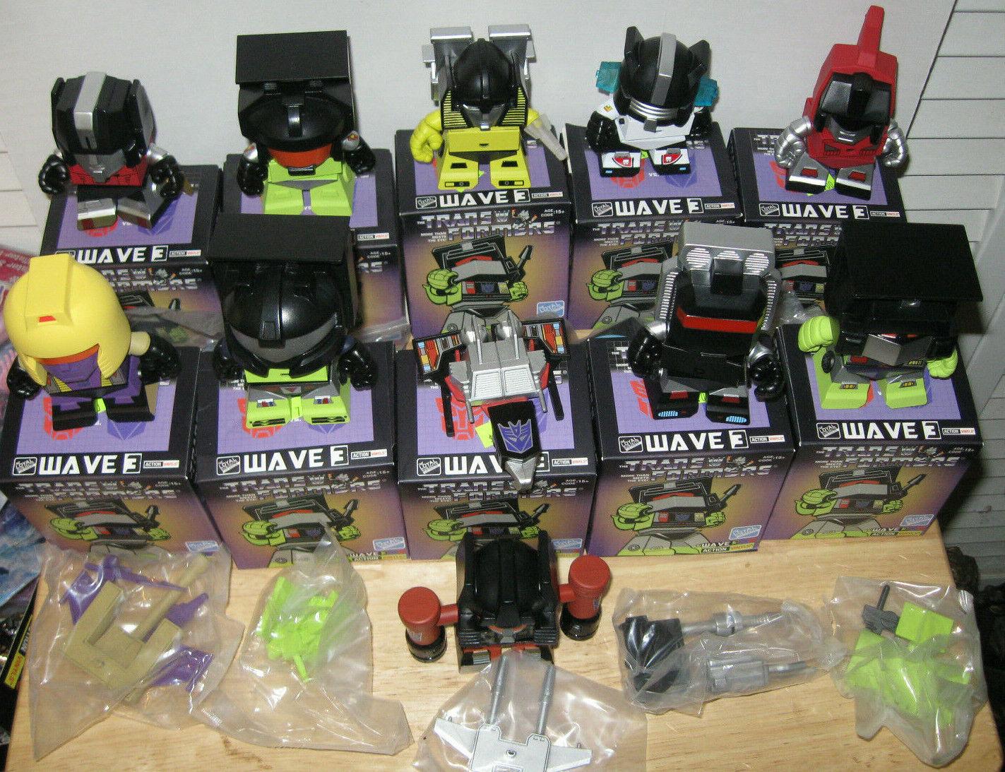 Loyal Subjects Transformers Wave 3 Lot of  11 Sunstreaker Sludge Blitzwing Swoop  vieni a scegliere il tuo stile sportivo