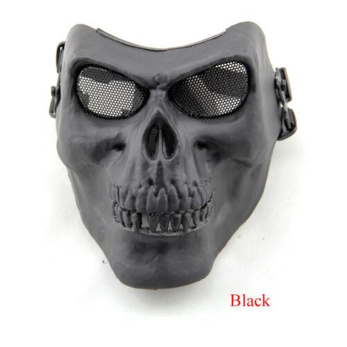Halloween Skull Skeleton Mask Costume Tactical Military Hunting Full Face Mask