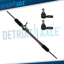 Manual Steering Rack And Pinion Outer Tie Rods For 1994 1996 1997 Ford Aspire