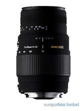 Sigma 70-300 DG Macro F. lente Nikon para d3100 d3200 d5100 d5200 d7000 d7100