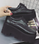 Womens-Retro-Square-Toe-High-Wedge-Platform-Muffins-Lace-Up-Club-Creepers-Shoes thumbnail 6