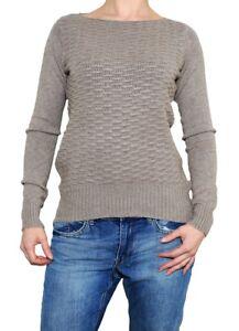 new styles 40792 6f4e5 Details zu Kurzen beige Pullover für Damen mit Muster Größe M/L zu Jeans  Strickpullover