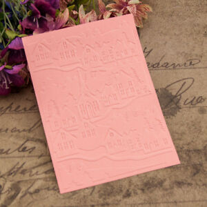 house-Embossing-folders-Plastic-Embossing-Folder-For-Scrapbooking-DIY-card-ZR