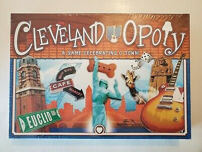ClevelandOpoly Cleveland-Opoly An Ohio Themed Monopoly Game NEW and SEALED