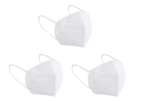 3 x N95 Face Mask KN95 P2 Particulate Respirator CE Anti Dust Medical Surgical