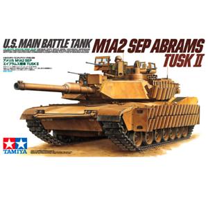 Tamiya-35326-U-S-Main-Battle-Tank-M1A2-Sep-Abrams-Tusk-II-1-35