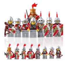 Medieval /& Weapons 21 Pcs Minifigures lego MOC Retro Roman Knight