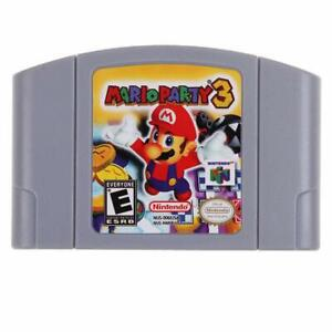 Mario-Party-3-Video-Game-Cartridge-Console-Card-US-Version-For-Nintendo-N64