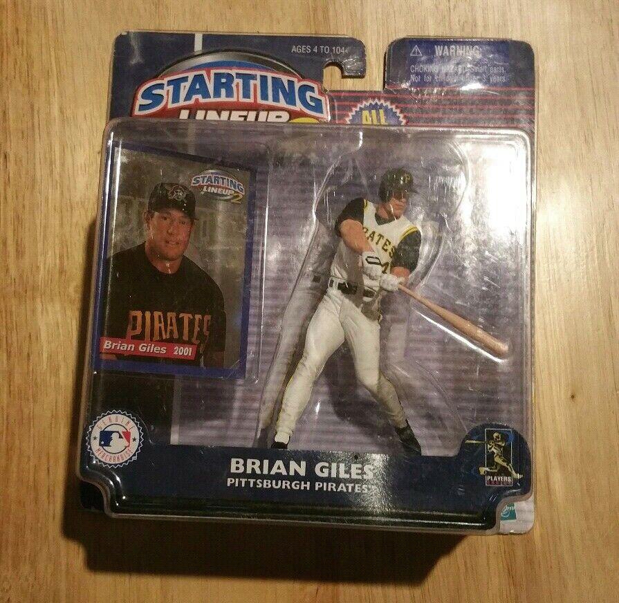 2001 Starting Lineup 2 Brian Giles Pittsburgh Pirates SLU Chase Figure Ship Free