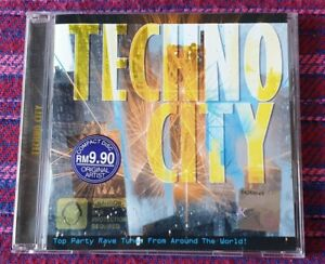 Various-Artist-Techno-City-VMP-Malaysia-Press-Cd