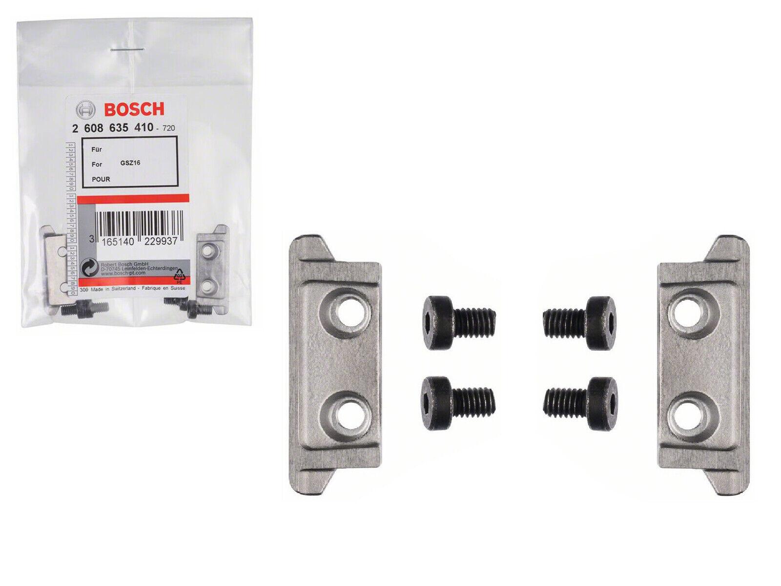 Bosch Schneidleistenset 2608635410 2 Schneidleisten 4 Schrauben für GSZ 160