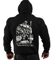 Black Book Of Pain Bodybuilding Clothing Hoodie, Gym Top G-54