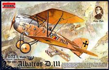 ALBATROS D III OEFFAG SERIE 253 (AUSTRO-HUNGARIAN MARKINGS)#26 1/72 RODEN