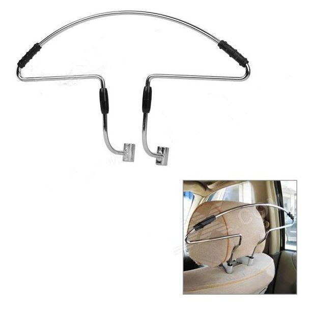 Stainless Steel Car Headrest Coat Hanger