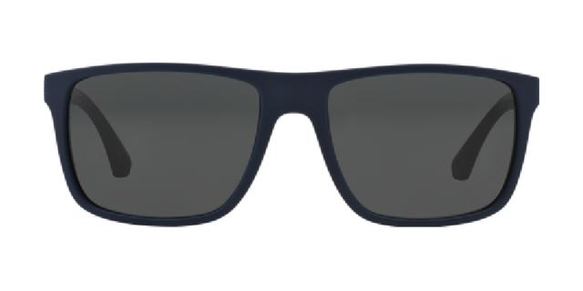 35cee3957371 NWT Emporio Armani Sunglasses EA 4033 523087 Top Blue Brown   Gray 56 mm NIB