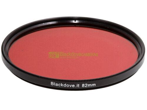 filtro Rosso Blackdove-cameras 82mm Diametro 82 mm.