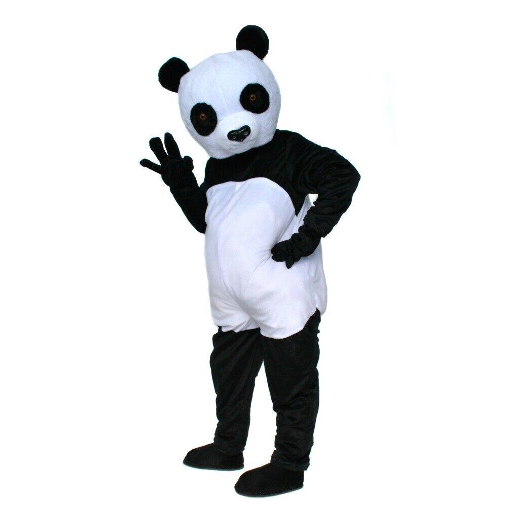 Fursuit Panda details about panda mascot costume fursuit cosplay party fancy dress animal  outfit halloween